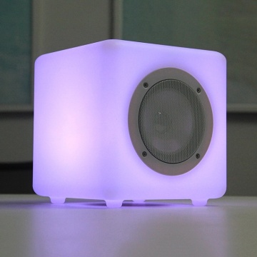 Tragbarer Audio-Player Telefonfunktion Bluetooth Cube-Lautsprecher