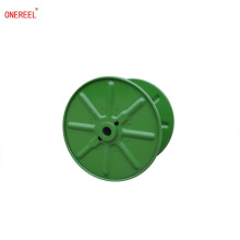 stamped high speed wire cable reel