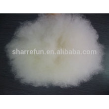 100% чисто тонкая Внутренняя монгольского коммерческого натуральный белый козий кашемир волокна с SGS