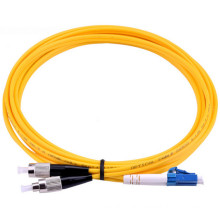 China Manufacturer ST-LC Single Mode Duplex Fiber Optic Patch Cable