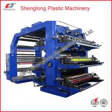 Machine d'impression / imprimante flexographique à étiquettes automatiques (WS806-1000ZS)