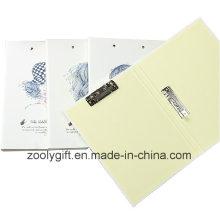 Papel de impresión A4 Carpeta de archivo de doble clip