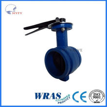 New product factory price weld stainless steel butterfly valve