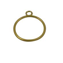 Tirador de cremallera de metal de oro personalizado de alta calidad