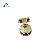 Light Gold Hardware Handbag Accessories Lock