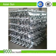 Q235 Stahl Auger Haufen für Solaranlage