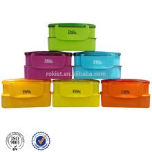2015 neue Werbe-made in China Kunststoff Doppelschicht Lunch-box