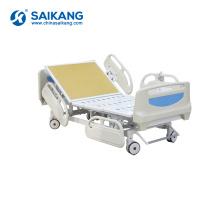 SK002-4 Medical Electric Adjustable Multifunctional Five Functions Hospital Bed Manufacturers