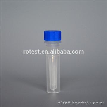 0.5ml Plastic Cryogenic Tube
