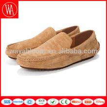 wholesale 2017 комфортная кожаная кожаная обувь из свиной кожи для отдыха