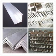 6063 6061 T3-T8 barre d'angle en aluminium Beaucoup de tailles sont disponibles