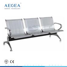 AG-TWC001 aeropuerto público hospital acero 3 plazas esperando silla