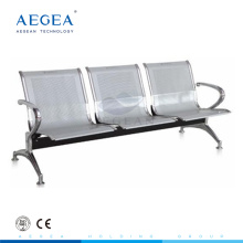 AG-TWC001 public airport hospital steel 3 seaters waiting chair