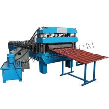 Máquina de formação de rolo de telha em aço 3D