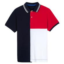 Heißer Verkaufs-Mischfarben-neuer Entwurfs-Mann-Polo-Hemd