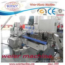 Máquina extrusora de granulado de plástico WPC
