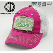 2016 Mode de haute qualité broderie patch lavage en coton chapeau de casque de sport / casquette de baseball