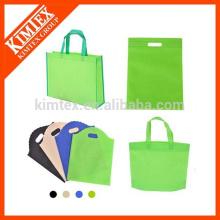Venta al por mayor de bolsas de compras no tejidas reciclado a medida