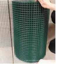 зеленый цвет ПВХ покрытием сварная сетка в рулонах из Китая