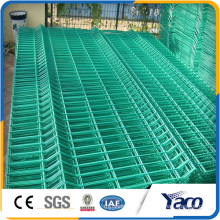 Building material rigid welded wire mesh fence panels