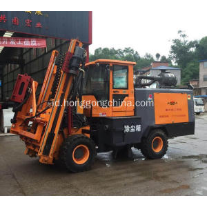 Road Barrier Hydarulic drilling machine