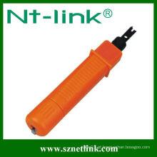 Laranja Com lâmina de 110 pinos tipo Krone ferramenta de perfuração de cabo