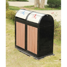 2014 High Quanlity Cheap Outdoor Environment WPC Trash Bin