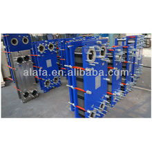 Marine Cooler, échangeur de chaleur type joint pour eau de mer, fabrication d'échangeur de chaleur