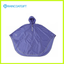 Waterproof Polyester PVC Coating Bicycle Rain Poncho Rpy-013