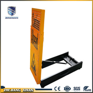 Customized aluminum road safety traffic warning sign board