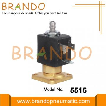 3 Way Mesin Kopi Brass Solenoid Valve 230V