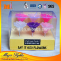 No ash unscented high quality candles wax factory