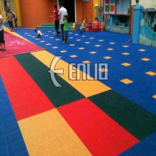 Revestimento exterior do campo de jogos das crianças das esteiras do revestimento das crianças