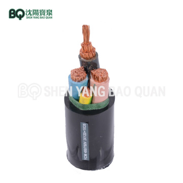 Cable eléctrico para grúa torre YCW 3 × 120 + 1 × 35