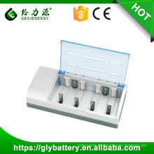 GLE 837 con el cargador de batería AA AA RoHS NIMH / NICD
