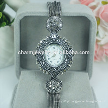 Novo Moda elegante elegante relógio de pulso de quartzo moda para as mulheres B028