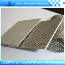 Disque filtrant en treillis métallique fritté