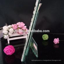 Прозрачный кристалл фоторамка для семья украшение, подарок и сувенир