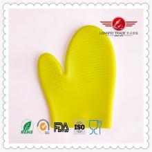 Wasserdichte Tricot Silikon Mikrowellen Hitzebeständige Handschuhe