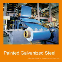 2014 pre-painted galvanizado aço para construção