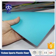 Centres de conditionnement physique en plastique flexible Le meilleur plancher de sport en PVC