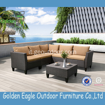 Vendita calda Outdoor New Wicker Best Sofa Set