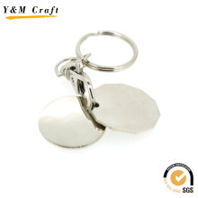 Woodern и металлический Брелок, Брелок овальной формы (Y03922)