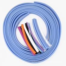 Tube isolé de PVC doux d'isolation de harnais de fil VW-1