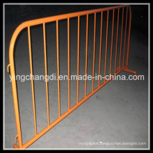 Galvanized Temporary Crowd Control Barrier for Road Safety