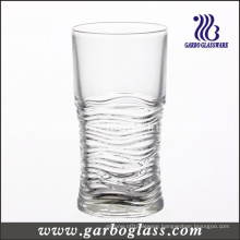 9oz Water Wave Effect Glass Tumbler (GB040109SW)