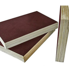 Hardwood Core or Poplar Core 12mm 15mm 18mm Brown or Black Color Film Faced Construction Plywood with Best Price