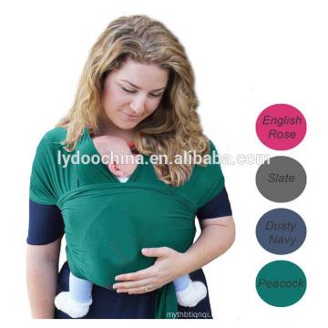 Abrigo del portador de bebé del algodón orgánico 100% natural de alta calidad