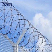 New product stainless steel blade or galvanized steel blade razor barb wire mesh sale