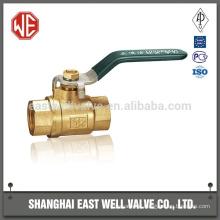 Válvula de esfera pneumática de alta pressão